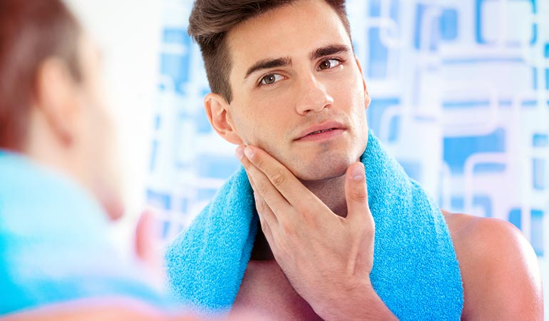 Olive oil prevents you from breaking out each time you shave