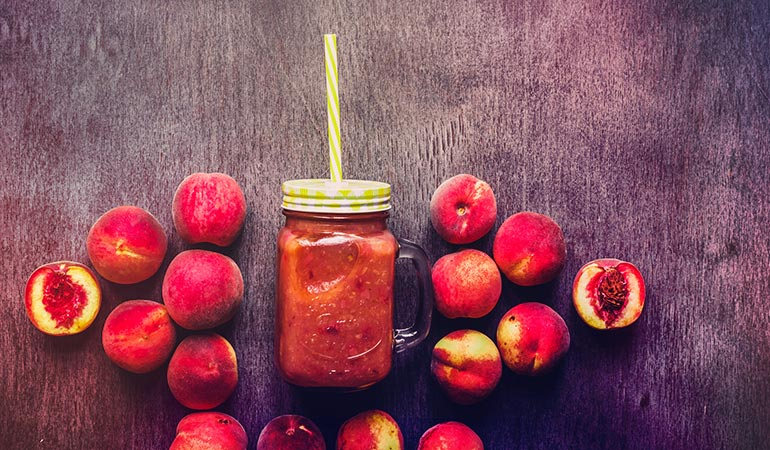 : Packaged fruit juices and smoothies include fruit concentrate
