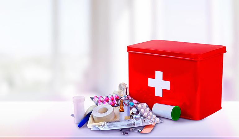 Toiletries, Sanitation, Medication, And First-aid