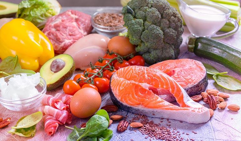 Focus on getting plenty of iron, protein and biotin