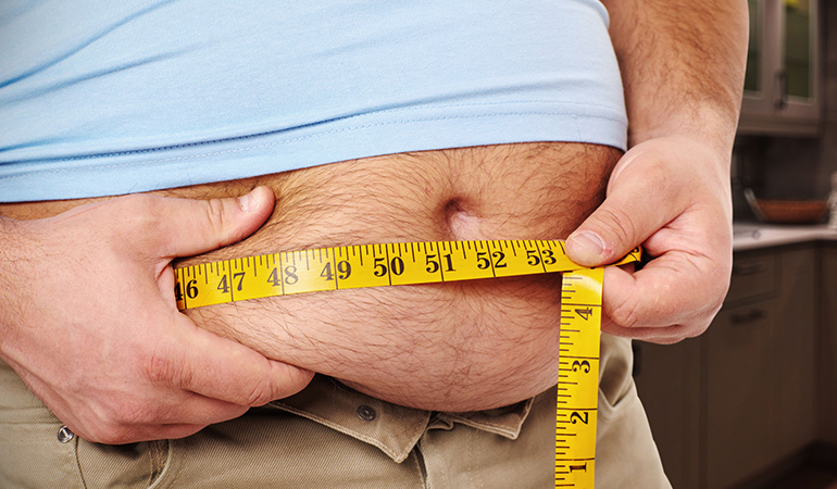 Its difficult to manage diabetes if you are overweight