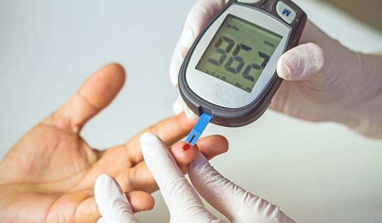 Biotin lowers blood sugar.