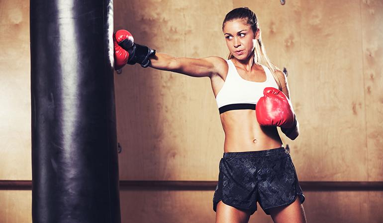 Boxing burns 800 calories.