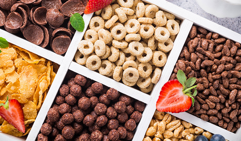 Breakfast Cereals Contained Refined Sugars Leading To Weight Gain