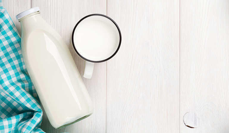 Cow's milk can cause constipation in babies