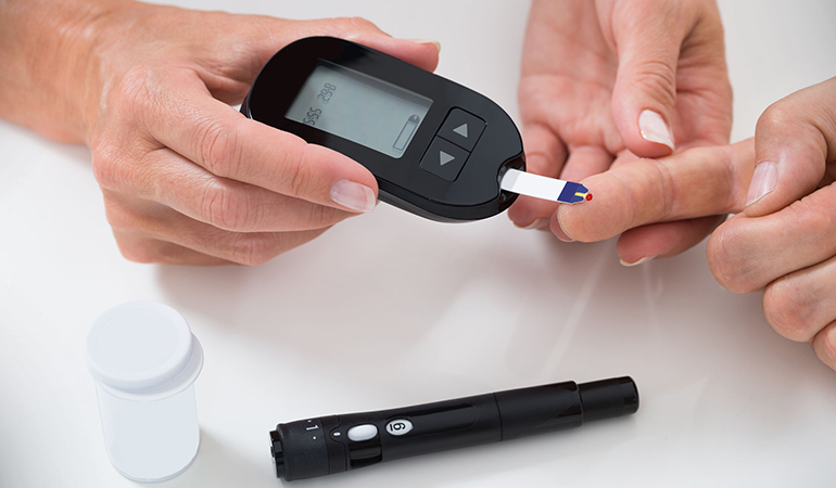 Diabetes may not show symptoms until it is too late