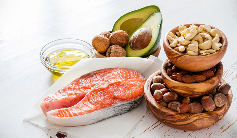 Eat foods rich in omega-3 fatty acids like fish