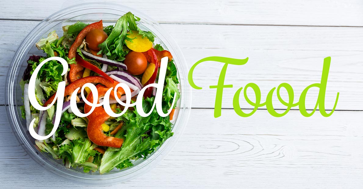 Eating the right food can help you stay mentally and physically healthy.)