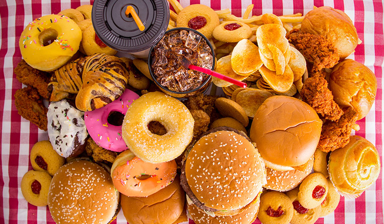 Processed food doesn't have the nutrients needed for immunity