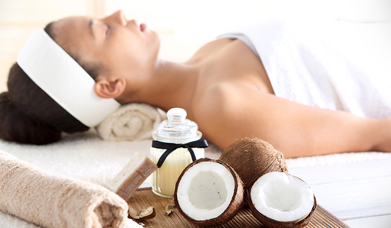 Coconut Extracts Protects Skin From External Harms