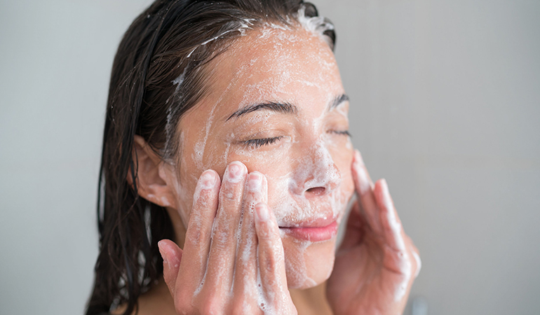 Exfoliation on facial skin should be done based on your skin type and the climate where you live