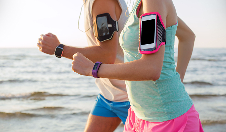 Friends keep you accountable for your fitness.