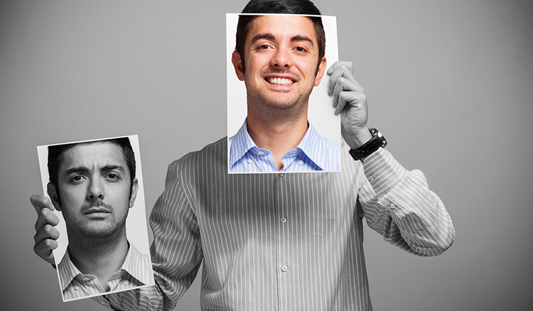 Confident men focus on their positive aspects