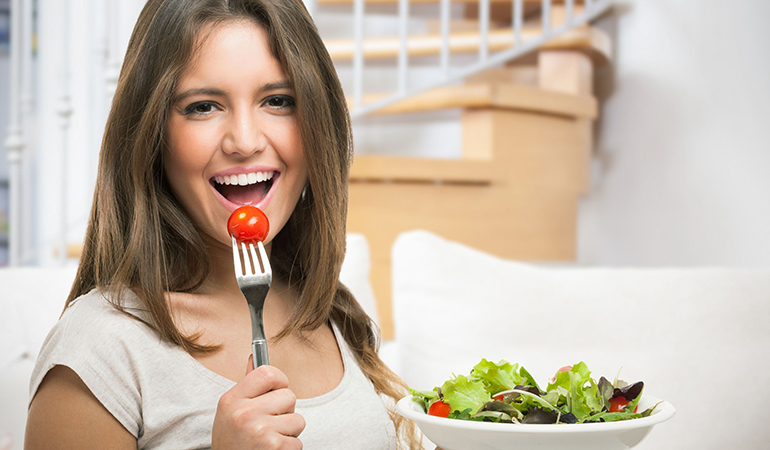 Following a healthy diet is more important than exercise