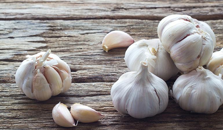 Garlic Is A Powerful Anti-Microbial Agent
