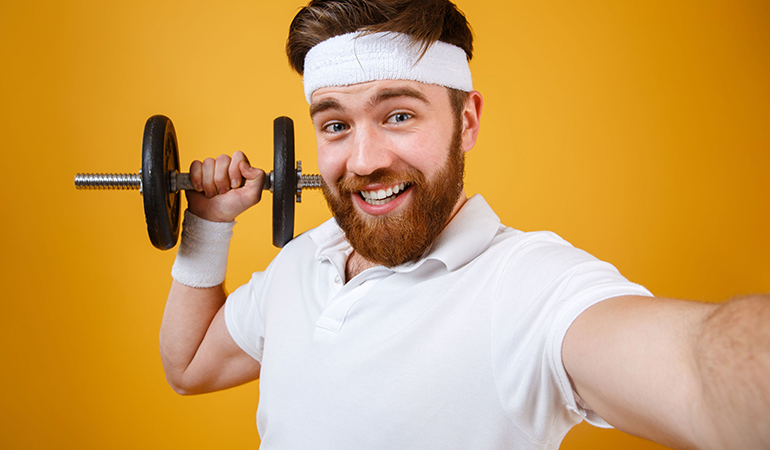 Don't keep taking gym selfies; it's tacky.