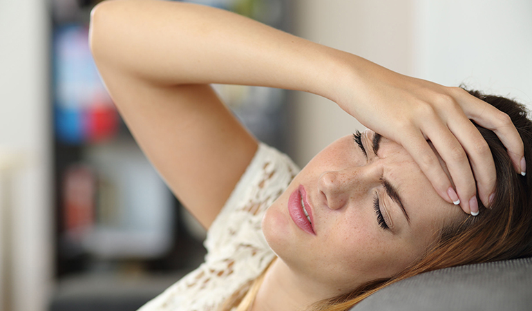 Headache Is An Unusual Sign Of Pregnancy