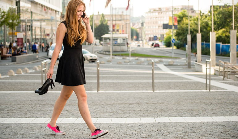 Make it a habit to walk more often