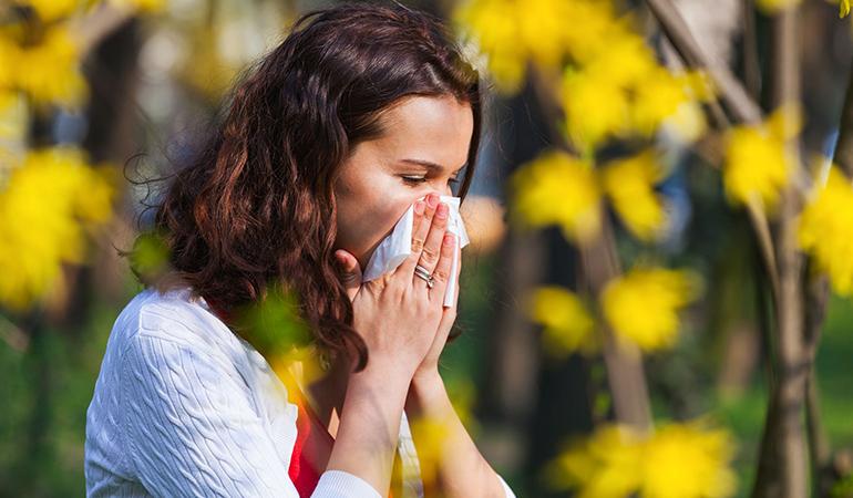 neti pot for allergic relief