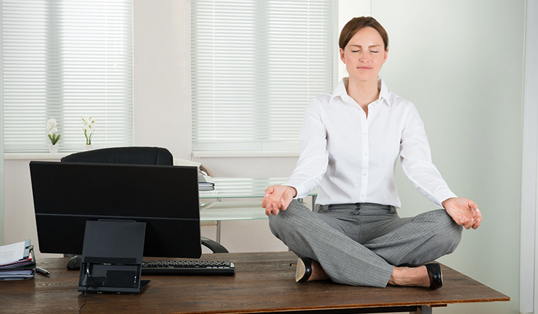 Stress management is more important than exercise