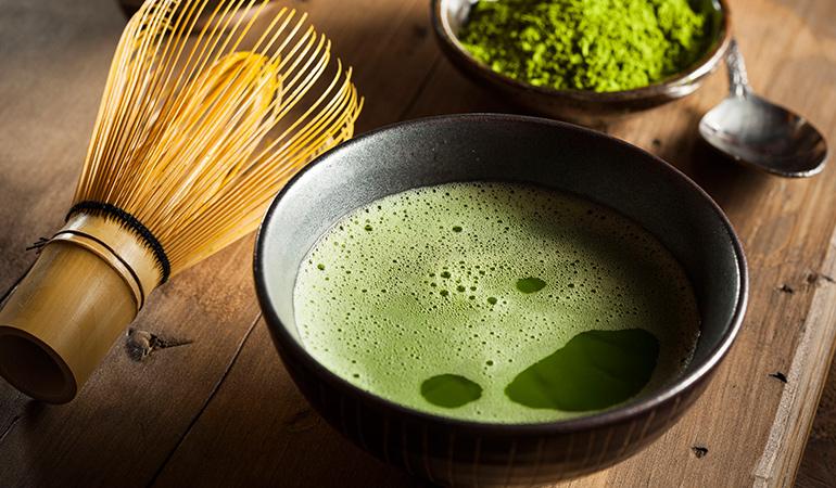 The catechins in matcha tea increase lifespan.