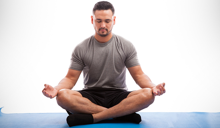 Meditation can reduce stress, and improve cognition.