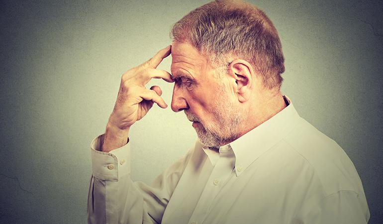 Alzheimer's causes severe memory loss.