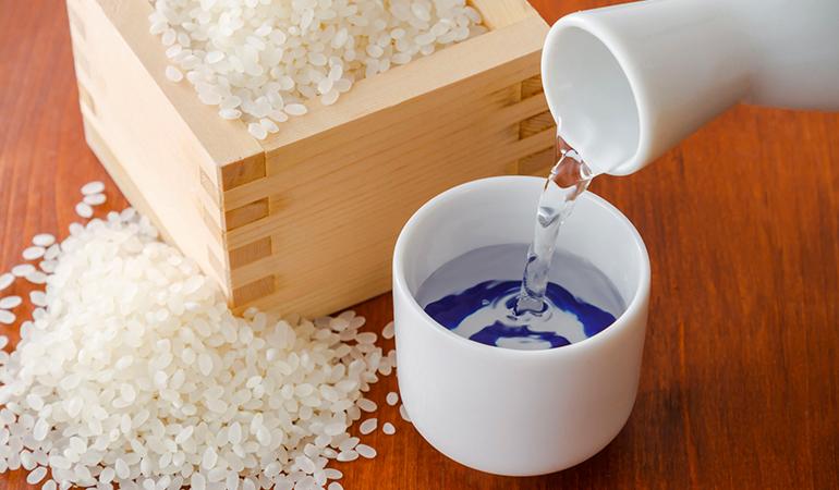 Fermented rice is sake's key ingredient
