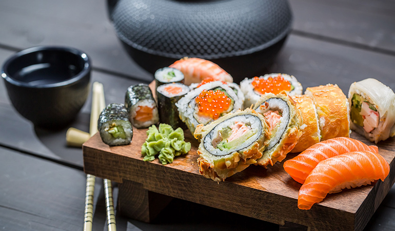 Seafood is rich in nutrients that promote longevity.