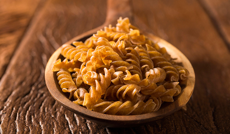 Sprouted-grained pastas are excellent for people with obesity and diabetes.