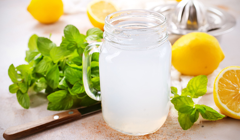 Waking up to a glass of water with lemon juice can help boost your immunity.