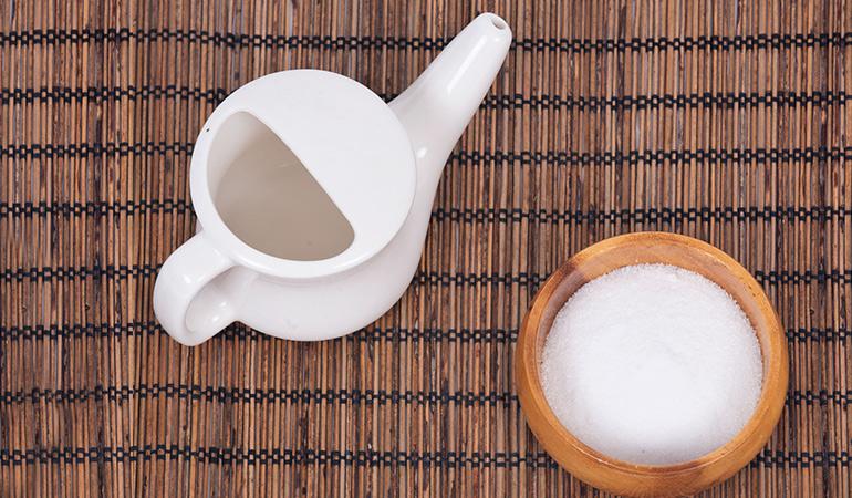 Steps To Use A Neti Pot