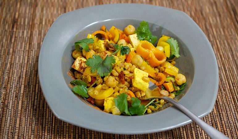 Add some spice to your tofu scramble