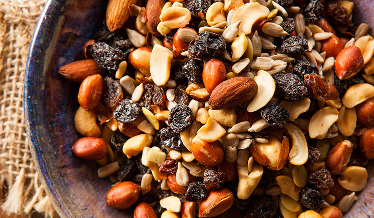 Trail Mixes May Cause Weight Gain