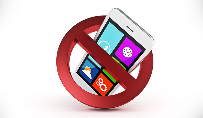 Turning off the notifications on your phone can make you less distracted and more productive