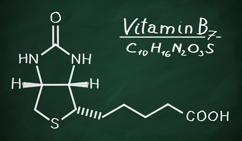 Biotin is a water-soluble vitamin.