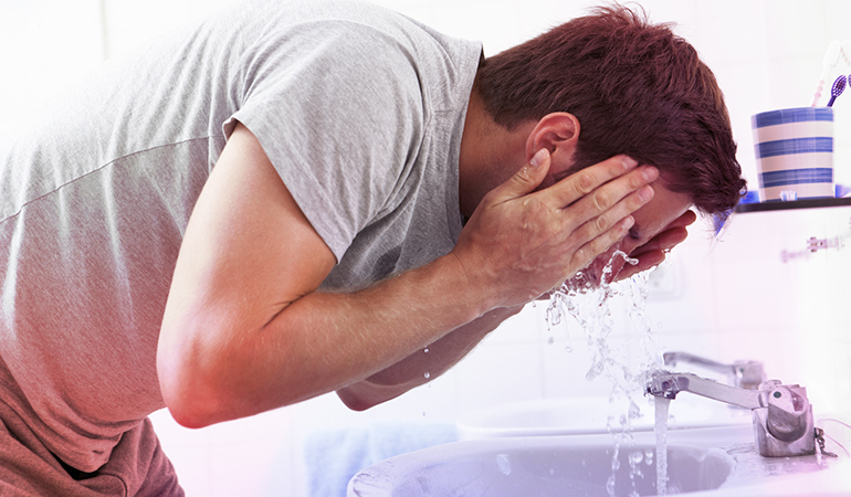 Gently Wash The Affected Areas With Warm Water And Mild Soap