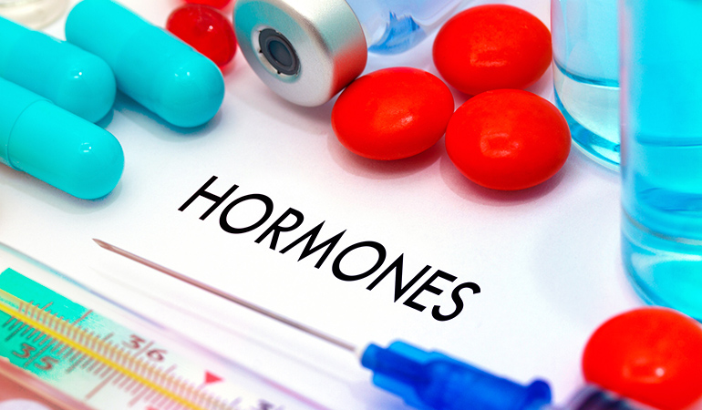 Hormonal acne is mostly caused by endocrine imbalance and generally affects women around mid-cycle before their periods start