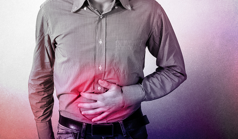 Ulcers can result from infection or smoking