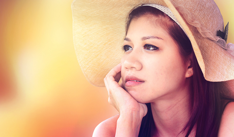 Wearing hats or touching your face constantly leads to skin breakouts.)