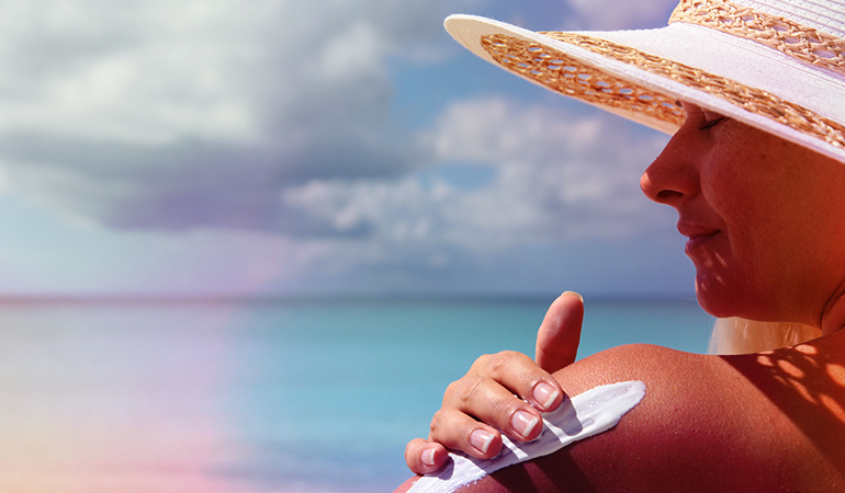 Exposure To Harsh Sun For Extended Periods Of Time Can Worsen Breakouts