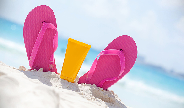 Sunless tanning products are safe as long as they don't come in contact with our internal mucous membranes.