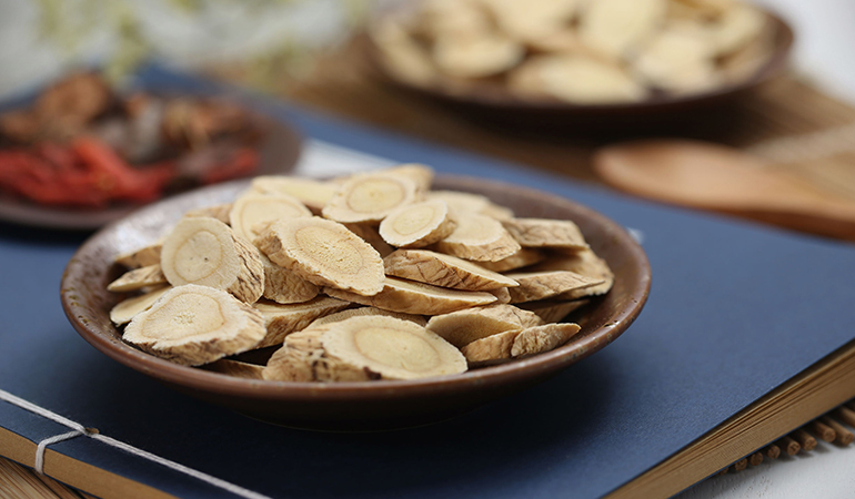 Astragalus root is a Chinese herb that has anti-viral properties