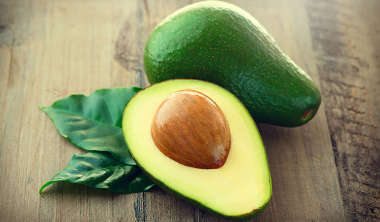 The combination of monounsaturated fatty acids and potassium in avocados helps alleviate stress.