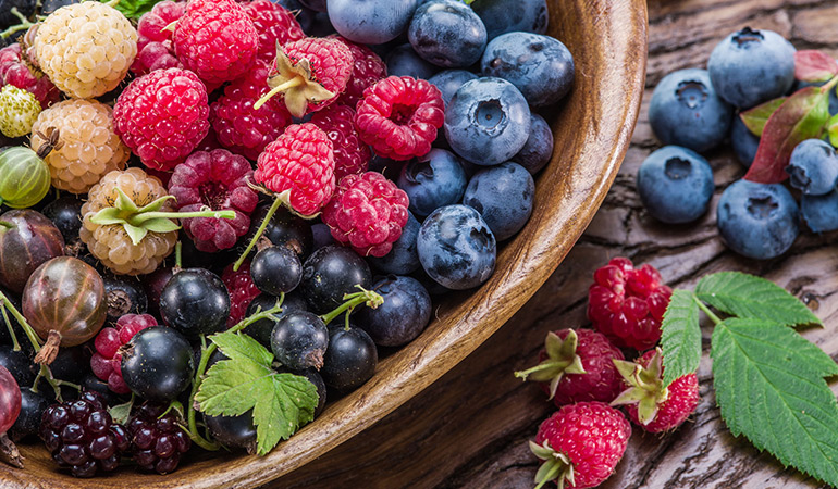 Eat antioxidant-rich food to prevent cancer.