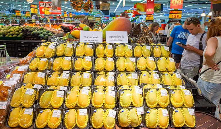 Imported food lacks nutrients.