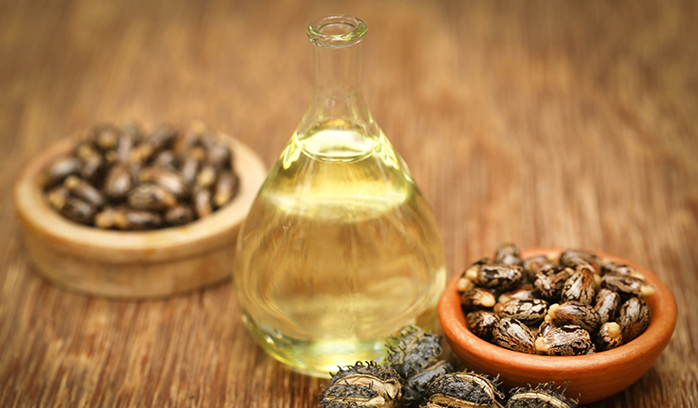 Castor oil works well as a carrier oil if you have dry skin