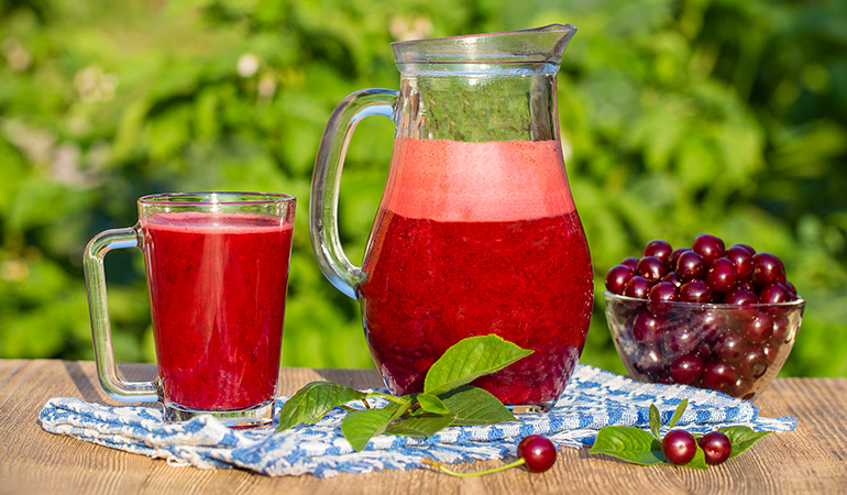 Nutrient-rich cherry smoothie can reduce asthma symptoms