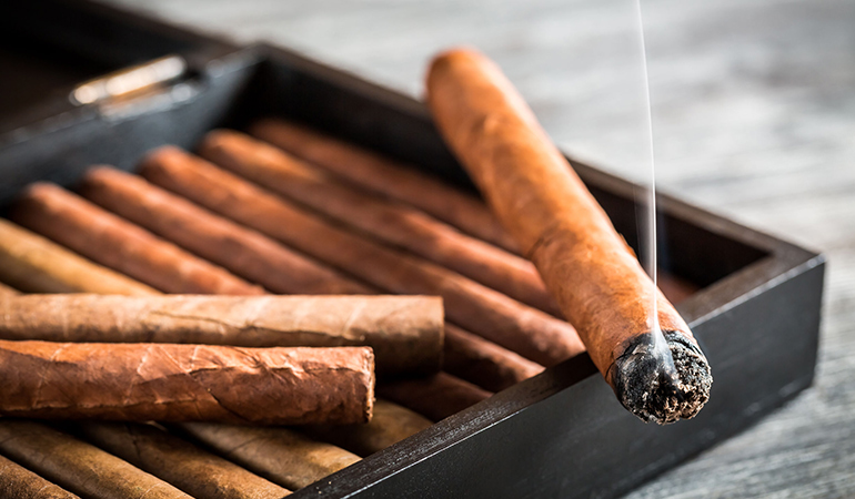 Cigar smoke is just as dangerous as cigarettes