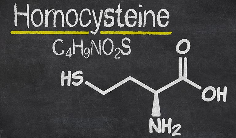 B vitamins can control homocysteine.